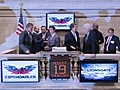 Sylvester Stallone rings NYSE bell   BahVideo.com
