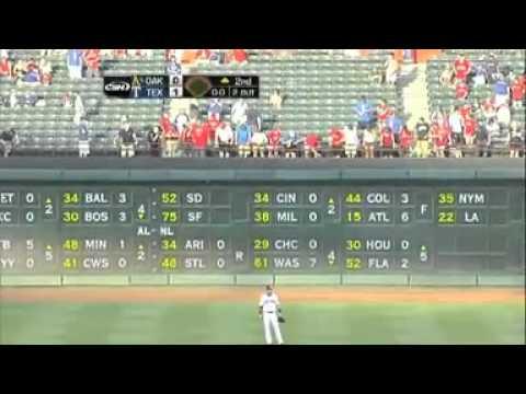 Texas Rangers baseball fan falls to his death | BahVideo.com