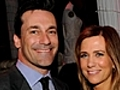 Kristen Wiig and Jon Hamm Tried Lots of  | BahVideo.com