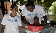 Basketball Stars Visit UNICEF-supported  | BahVideo.com