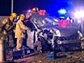 One dead six injured in Vic car crash   BahVideo.com