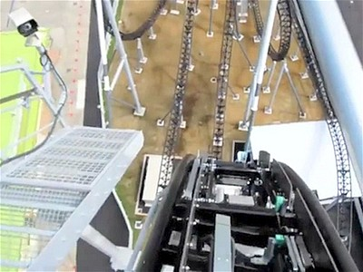 World s Steepest Rollercoaster | BahVideo.com