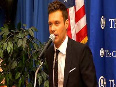 Ryan Seacrest Opens New Studio at Children s  | BahVideo.com