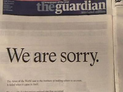 Murdoch Offers Apology Over Hacking Scandal | BahVideo.com