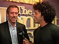 Backstage Hugh Laurie | BahVideo.com