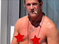 Mel Gibson Goes Topless in Cannes | BahVideo.com