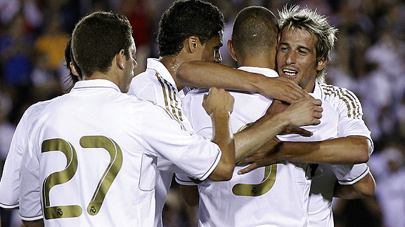 An lisis Real Madrid venci por 4-1 al Galaxy | BahVideo.com