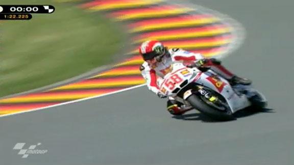 Moto GP Simoncelli fue el m s r pido en Alemania | BahVideo.com
