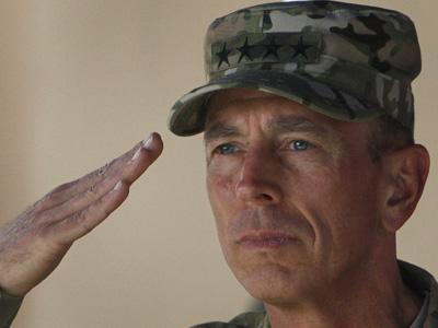 General Petraeus hands over Afghanistan command | BahVideo.com