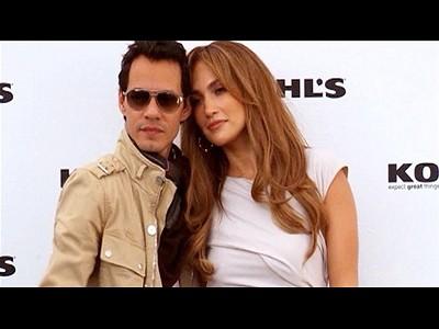 Jennifer Lopez et Marc Anthony c est fini  | BahVideo.com