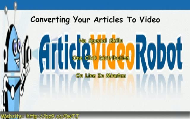 Automatically Convert Articles Into Video | BahVideo.com
