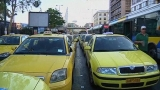 Greek taxi drivers strike | BahVideo.com