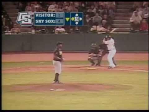 Jordan Pacheco BROKEN BAT two run home run  | BahVideo.com