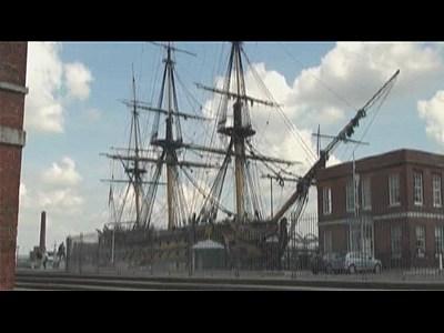 HMS Victory restoration | BahVideo.com