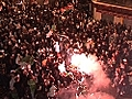 Fans in France celebrate Algeria s win | BahVideo.com