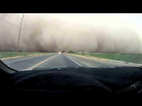 Driving into AZ Haboob Dust Storm HD | BahVideo.com