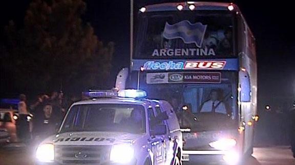Argentina y Uruguay ya est n en Santa Fe | BahVideo.com