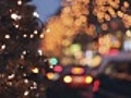 Christmas traffic in the city | BahVideo.com