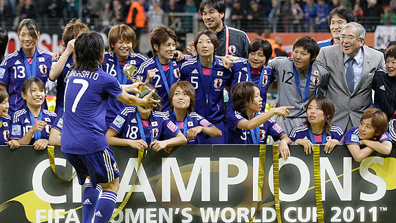 Jap n gan en penales el Mundial Femenil | BahVideo.com