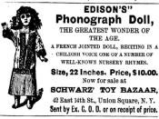 Is this Edison recording the first talking doll  | BahVideo.com