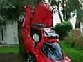 Weird Crazy Stupid and Funny Car Crashes | BahVideo.com