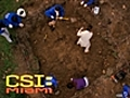 CSI Miami - Victim Digs Own Grave | BahVideo.com