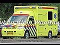 A1 AMBU 10-107 met spoed naar het WFG na  | BahVideo.com