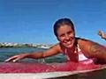 AKA Girl Surfer - Iluka Surf Session | BahVideo.com