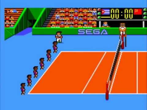 Sega Master System - Great Volleyball | BahVideo.com
