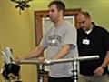 Paraplegic Rob Summers walks again | BahVideo.com