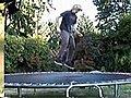 Trampoline Skateboarding | BahVideo.com