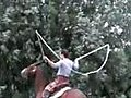 Horse Jumps Rope | BahVideo.com