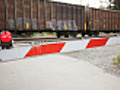 Railroad Crossing Barrier | BahVideo.com