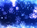 Frosty Blue Snowflakes Christmas Background | BahVideo.com