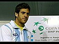 Copa Davis Argentina est lista | BahVideo.com