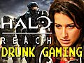 Drunk Gaming - Halo Reach  | BahVideo.com