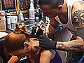 Drita Gets A Tattoo   BahVideo.com
