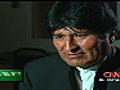 Entrevista con Evo Morales | BahVideo.com