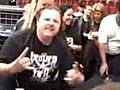Black Sabbath Fan Freaks Out | BahVideo.com