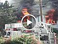 Uncut Fire Ravages Home | BahVideo.com
