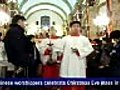 Chinese worshipers celebrate Christmas Eve in Beijing | BahVideo.com