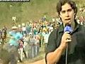 Reporters getting hurt | BahVideo.com