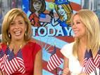 Kathie Lee Hoda celebrate Fourth of July  | BahVideo.com