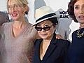 Yoko Ono praises Lennon film | BahVideo.com