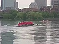 Rowing the 2010 Reunion Row final race | BahVideo.com
