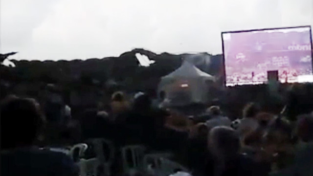 Stage COLLAPSES At Cheap Trick Concert VIDEO  | BahVideo.com