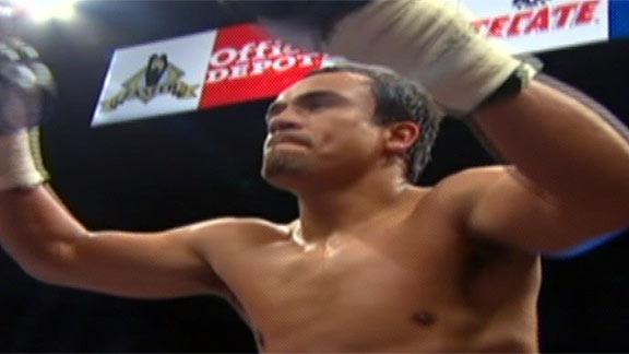 Juan Manuel M rquez venci a Ramos en 1er round | BahVideo.com