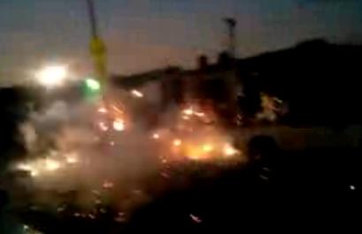 Amateur Fireworks Fail | BahVideo.com