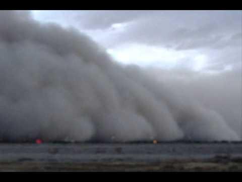 Sand Storm in Phoenix Arizona July 5 2011 | BahVideo.com