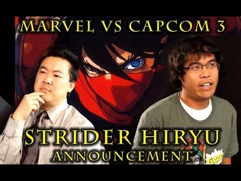 Marvel VS Capcom 3 Strider Hiryu PSA from  | BahVideo.com